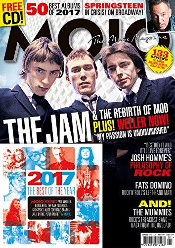 Josh Cellars (Mojo Magazine (January, 2018) The Jam Cover)