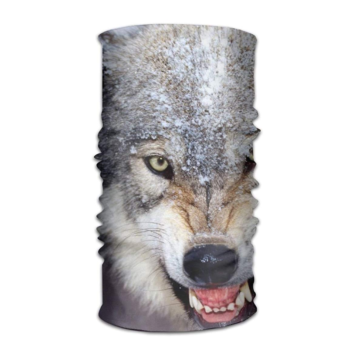 NDJHEH Go Wolf Headwear Bandanas Seamless Headscarf Outdoor Sport Headdress Running Riding Skiing Hiking Headbands