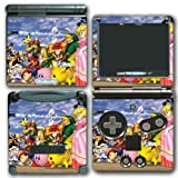 gameboy advance dr mario - Super Smash Bros Melee Brawl Link Zelda Peach Dr Mario Ice Climbers Mewtwo Bowser Luigi Samus Video Game Vinyl Decal Skin Sticker Cover for Nintendo GBA SP Gameboy Advance System