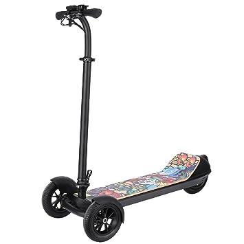 weskate eléctrico Scooter 3 ruedas plegable Scooter ...
