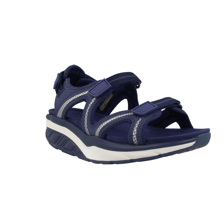 MBT Shoes Women's Lila 6 Sport Sandal: Indigo/Blue 5 Medium (B) Velcro