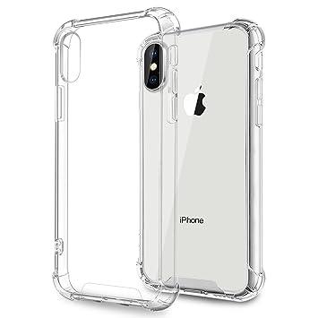 c59b329de7 iPhoneXs ケース,Fogeek iphone x ケース クリア ストラップホール付き iphone x ハードケース qi