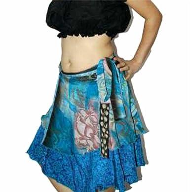 Dancers World Ltd (UK Seller) Vestido Reversible Vestido Falda ...