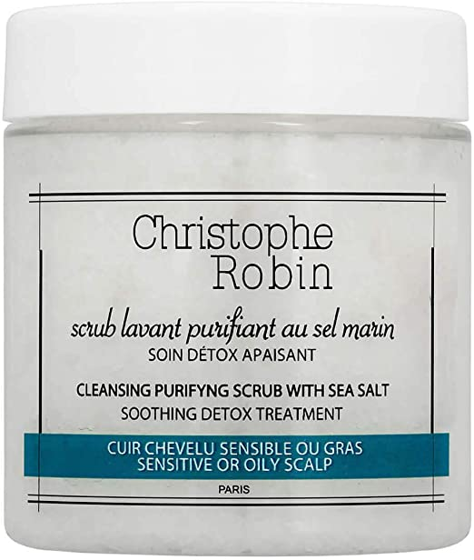 Christophe Robin - Cleansing Scrub with Marine Salt 75ml