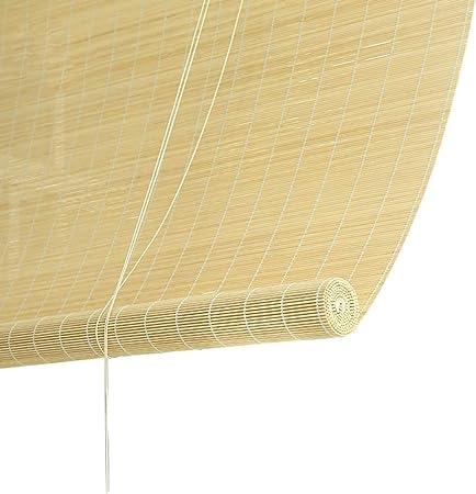 Persiana Enrollable Persiana Exterior Enrollable Sombra, Sombra Enrollable para Exteriores con 90% de Protección UV, para Pérgola de Patio Terraza Cubierta Pérgola, 85cm / 105cm / 125cm / 145cm Ancho: Amazon.es: Hogar