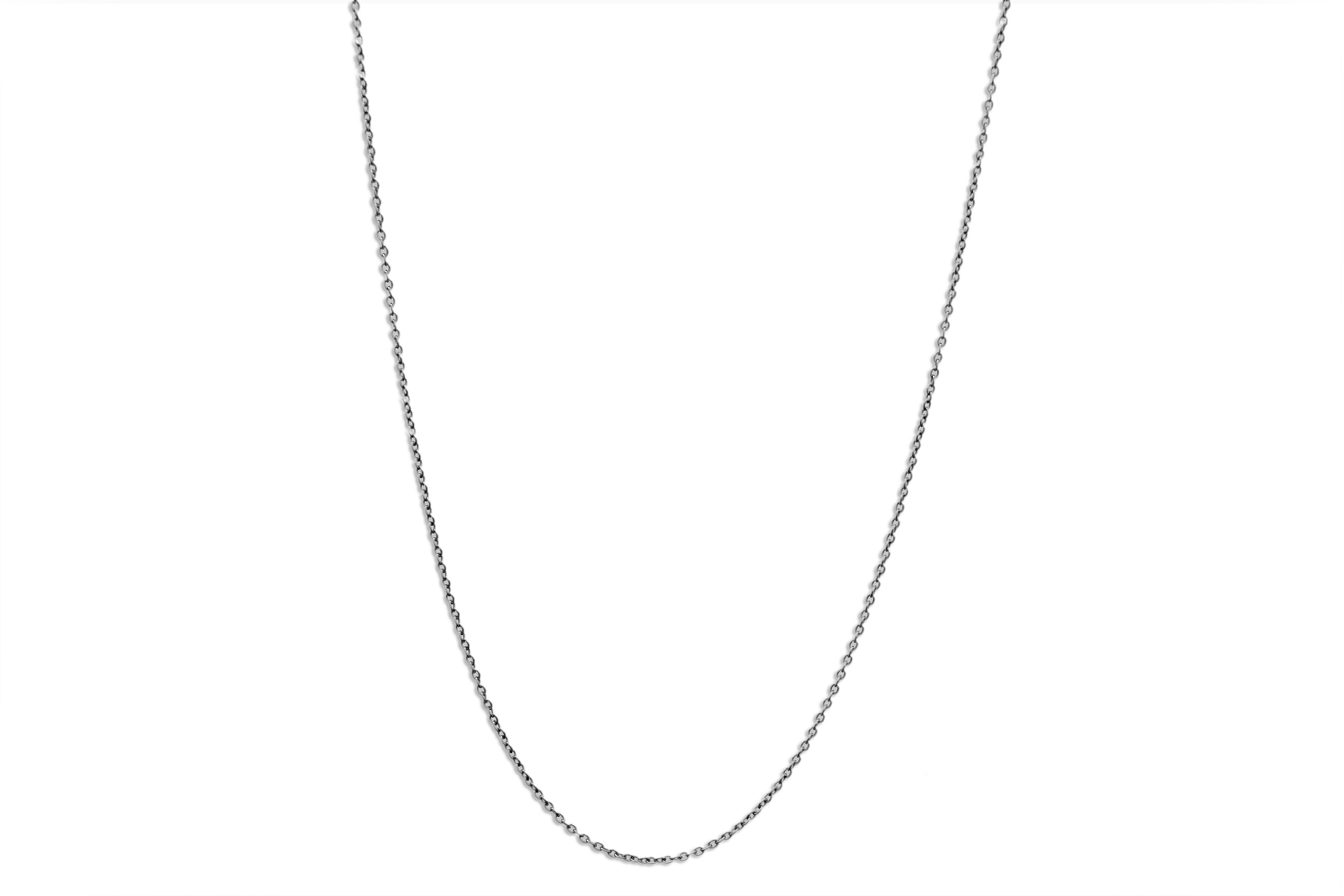 CloseoutWarehouse Stainless Steel Cable Chain Necklace 2.5MM Size 18''