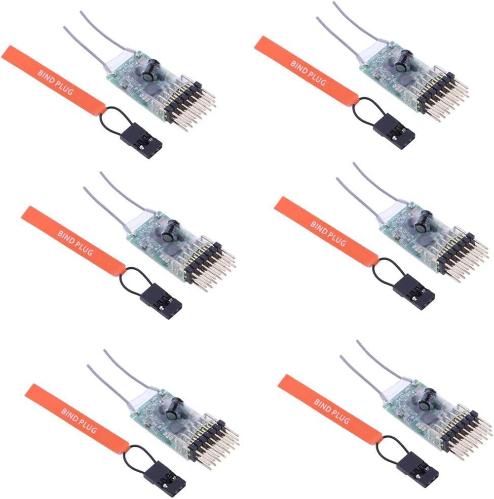 Récepteur AR6100E à 6 canaux DSMX 2 Spektrum DX6I DX18 DX8 DX9
