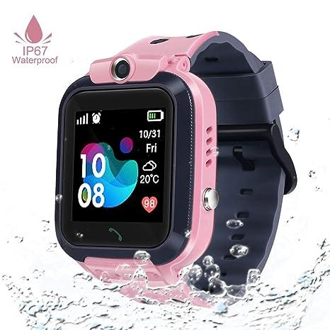 Amazon.com: Kids GPS tracker Smart Watch Waterproof ...