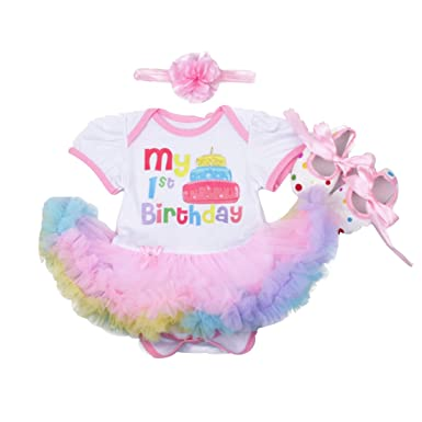 Amazon.com: ammengbei 3 piezas bebé niña recién nacido ...