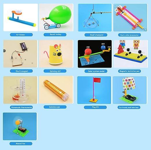 TTSUAI Kit De Experimento De Ciencia De Montaje Stem DIY Niños ...