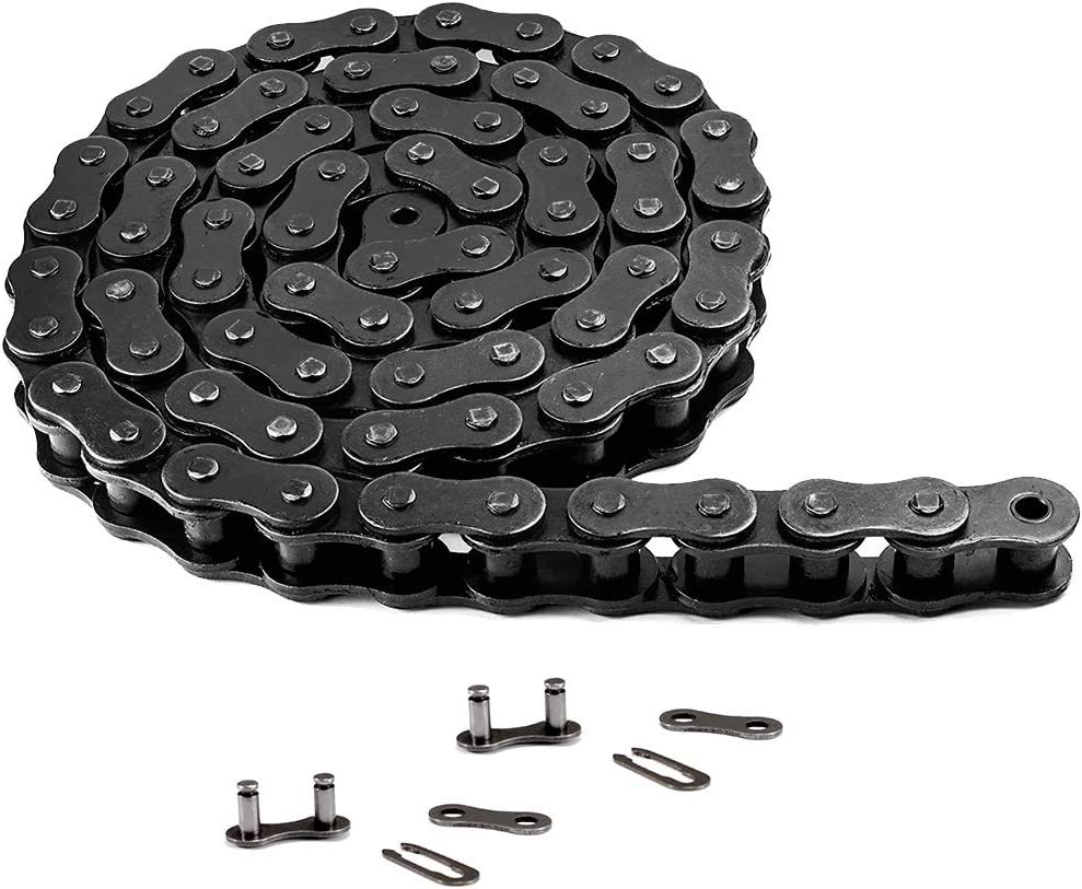 415H-110L Motorized Chain for 49cc 60cc 66cc 80cc 2-Stroke Engine Motor Motorized Bicycle Bike Heavy Duty Chain High Power Racing Parts