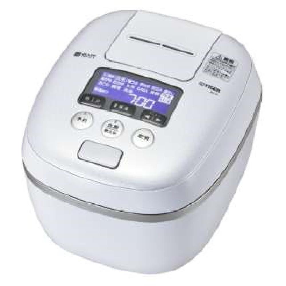 タイガー 圧力IH炊飯ジャー(5.5合炊き) アーバンホワイトTIGER 炊きたて JPC-A102-WE   B07DHDF33K