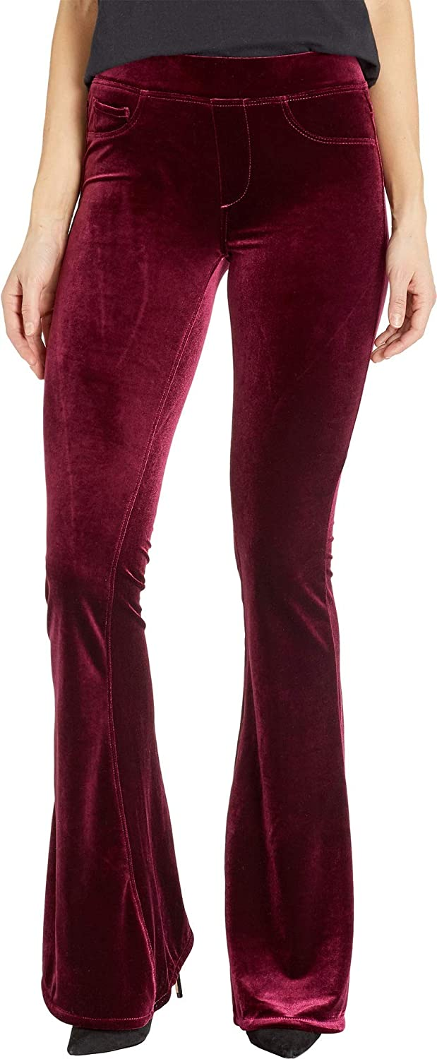 e8d39de5313f0 Blank NYC Womens Pull-On Velvet Flare Pants in Identity Crisis at Amazon  Women s Clothing store