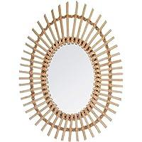 Atmosphera - Miroir rotin Ovale