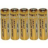 【ロワジャパン】【5個入り】カーアラーム 各種リモコン用 A27 G27A PG27A MN27 CA22 L828 EL812 互換 [ 27A ] 12V アルカリ 電池