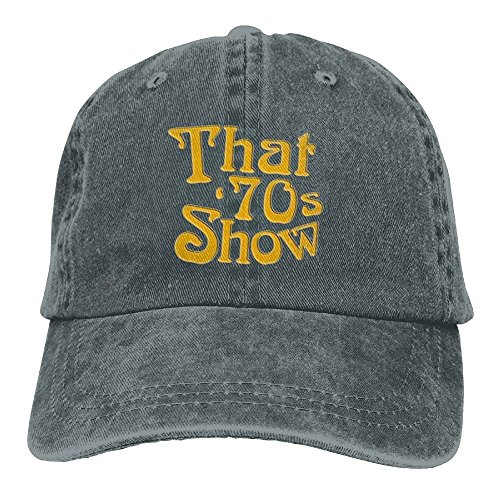 XingHHuo That is 70s Show 2018 Adjustable Washed Cap Cowboy Baseball Hat Asphalt (70s That Girl)