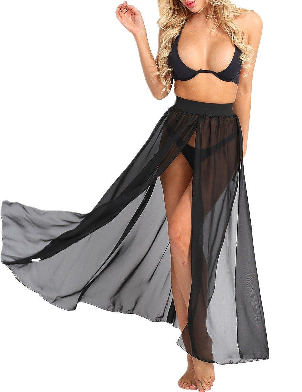 6a62b20df0 Side Split Chiffon Maxi Skirt – DACC