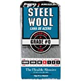 HOMAX PRODUCTS 10121110 bloco de lã de aço número 0, pacote com 12