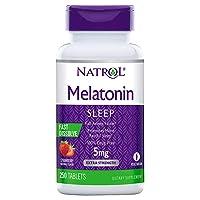 Natrol Melatonin 5mg Fast Dissolve (250 ct.) (Pack of 2)