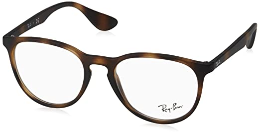 8ccc9914325a ... low price ray ban womens rx7046 eyeglasses grey gradient rubber 51mm  c858a 55a7b