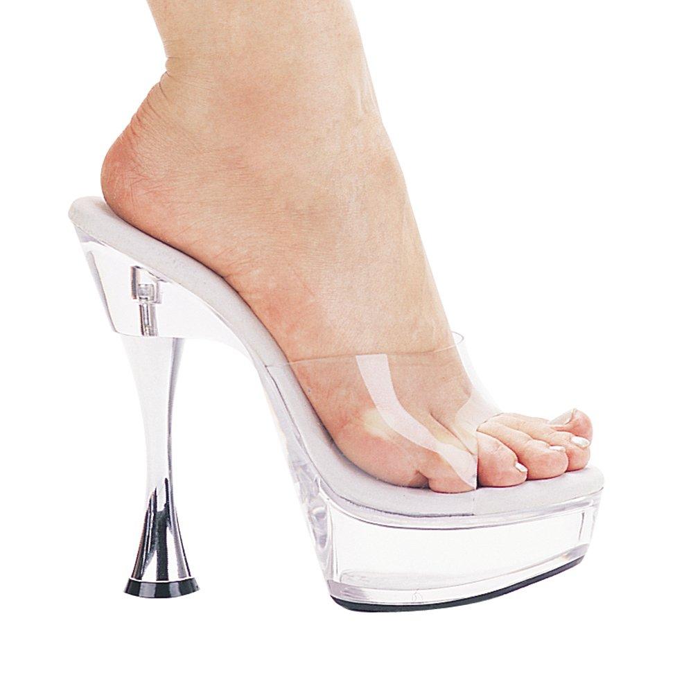 4 Inch Heel Clear Platform Stiletto US Clear Shoe B000B67AE2 10 B(M) US Clear Stiletto 6fb27e