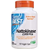 Doctor's Best Nattokinase - 2, 000 FU of Enzyme, Supports Heart Health & Circulatory & Normal Blood Flow, Non-GMO, Gluten Fre