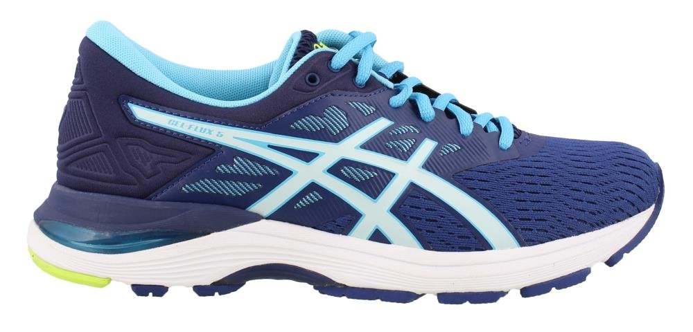 ASICS Gel-Flux 5 Women's Running B077NF21ZY 7 B(M) US|Blue Print/Soothing Sea