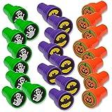 Halloween Stamps; Includes: Bats, Ghosts, Pumpkins Pack of 24