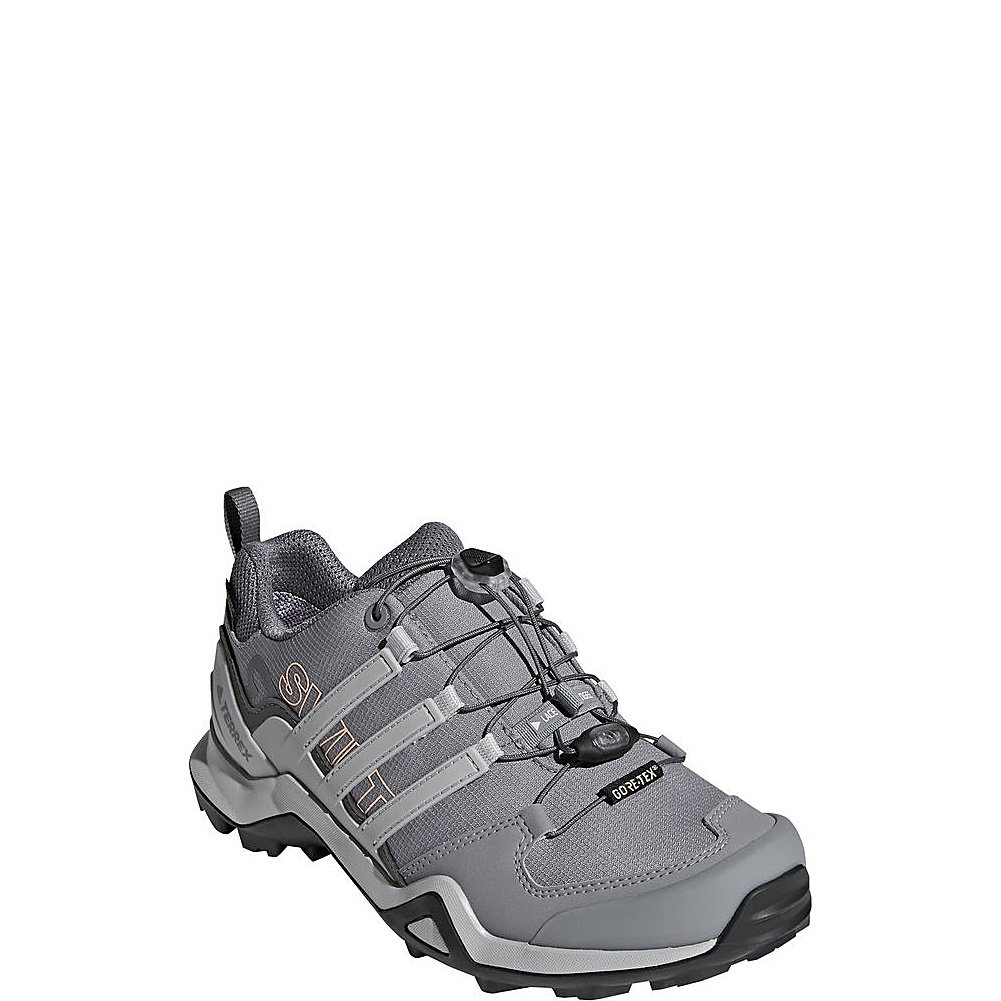 Adidas Outdoor Women's Terrex Swift R2 GTX Hiking Shoe B072Y1KH4R 9.5 B(M) US|Grey Three/Grey Two/Chalk Coral
