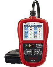 Autel Autolink AL319 Bus Can Diagnosis Multimarca 2 EOBD Auto Scanner Lee y Borra Códigos de Error de Automóviles con Interfaz Estandar OBD II 16 Pines, AL AL 319,