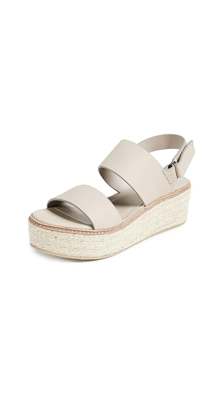 Vince Women's Janet Wedge Sandals B07BHP555P 9 B(M) US Straw