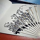 STARVAST 12 Pieces Detail Paint Brush Set Miniature