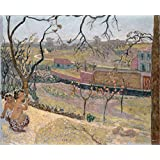 Canvas Prints Of Oil Painting ' Bonnard, Pierre_1909_Early Spring Little Fauns ' , 24 x 30 inch / 61 x 75 cm , High Quality Polyster Canvas Is For Gifts And Gym, Kitchen And Nursery Decoration, prices