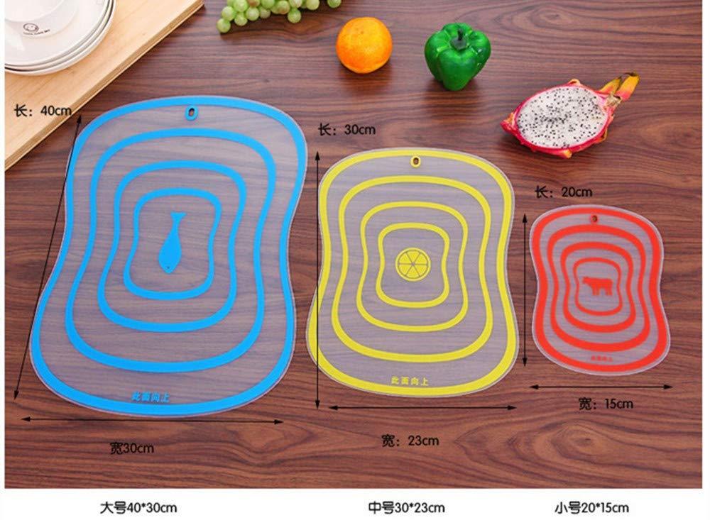 JonerytimeFat Scrub Category Cutting Board Non - Slip Fruit Rubbing Panel Kitchen (S) by Jonerytime_Home & Garden (Image #3)