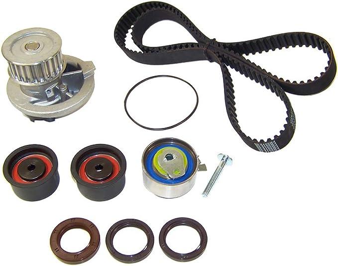 SCITOO Timing Belt Water Pump Kit fit 1999-2002 Daewoo Nubira 2.0L DOHC L4 16V ENG.CODE X20SE//ECOTEC TBK309