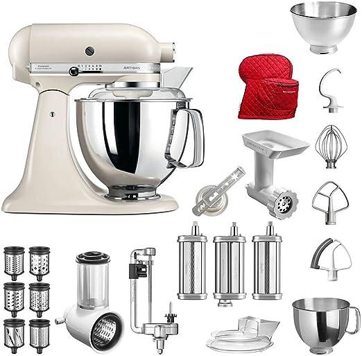 Robot de cocina de KitchenAid Artisan, modelo 5KSM175PS; el ...