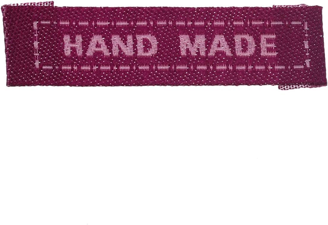 10 x tejida a mano etiquetas etiquetas de ropa las etiquetas tejidas en etiquetas etiquetas