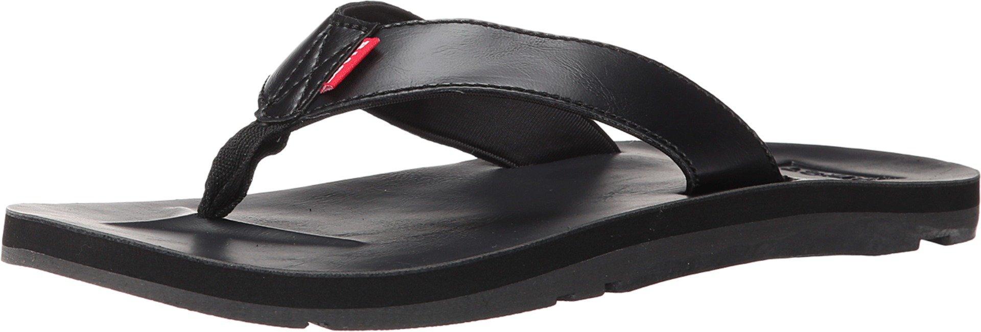 8b6d06d0ee931 Galleon - Levi's Shoes Men's Heartland LE J2 Black 2 Sandal