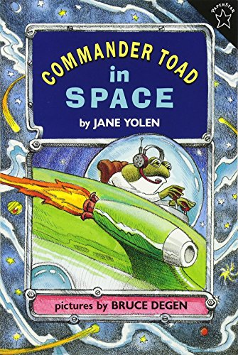 Commander Toad in Space (Commander Series)