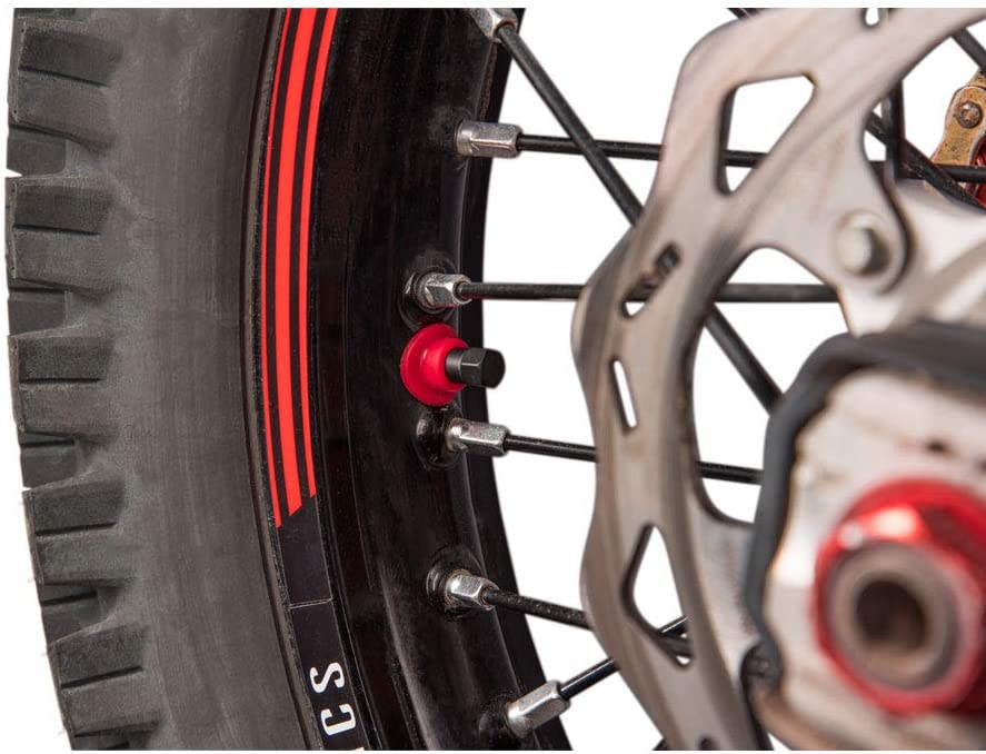 TUSK Rubber Valve Support//Seal Red Honda XR650R 2000-2007 Fits
