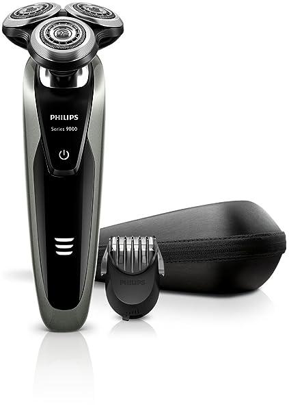 Philips SHAVER Series 9000 S9161 Plata - Afeitadora (Batería Corriente 13111acc385f
