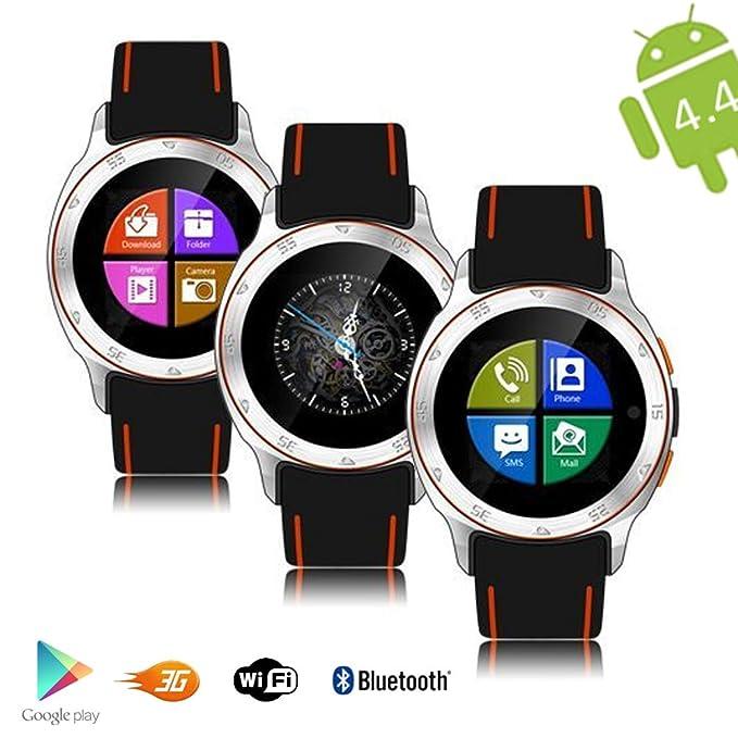 Indigi® ALLWeather impermeable reloj inteligente Android 4.4 ...