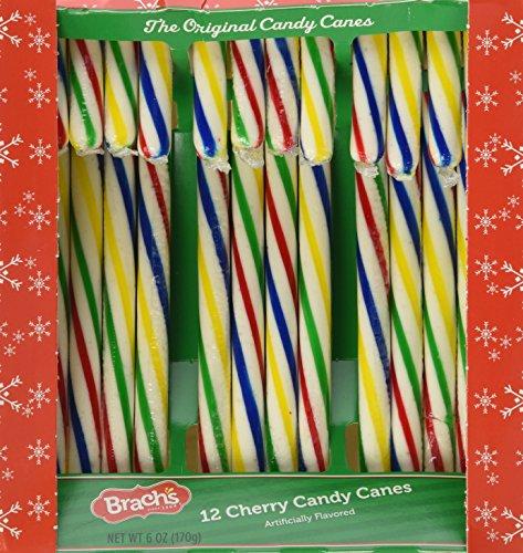 Brach's Original Cherry Rainbow Candy Canes ()