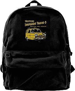 Canvas Backpack Only Fools And Horses Cushty Rucksack Gym Hiking Laptop Shoulder Bag Daypack For Men Women