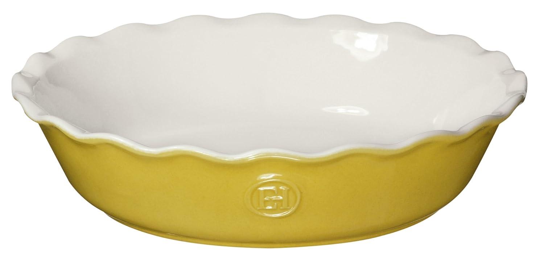 Emile Henry 91626121 Spring Pie Dish 26cm/9-Inch 1.6L/1.6qt, Spring