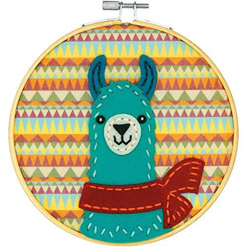 Dimensions Needlecrafts Llama, Learn a Craft Felt Applique K