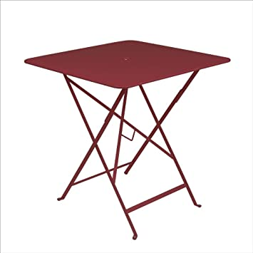 Amazon De Fermob Tisch Bistro Chili L71 X L71 Cm