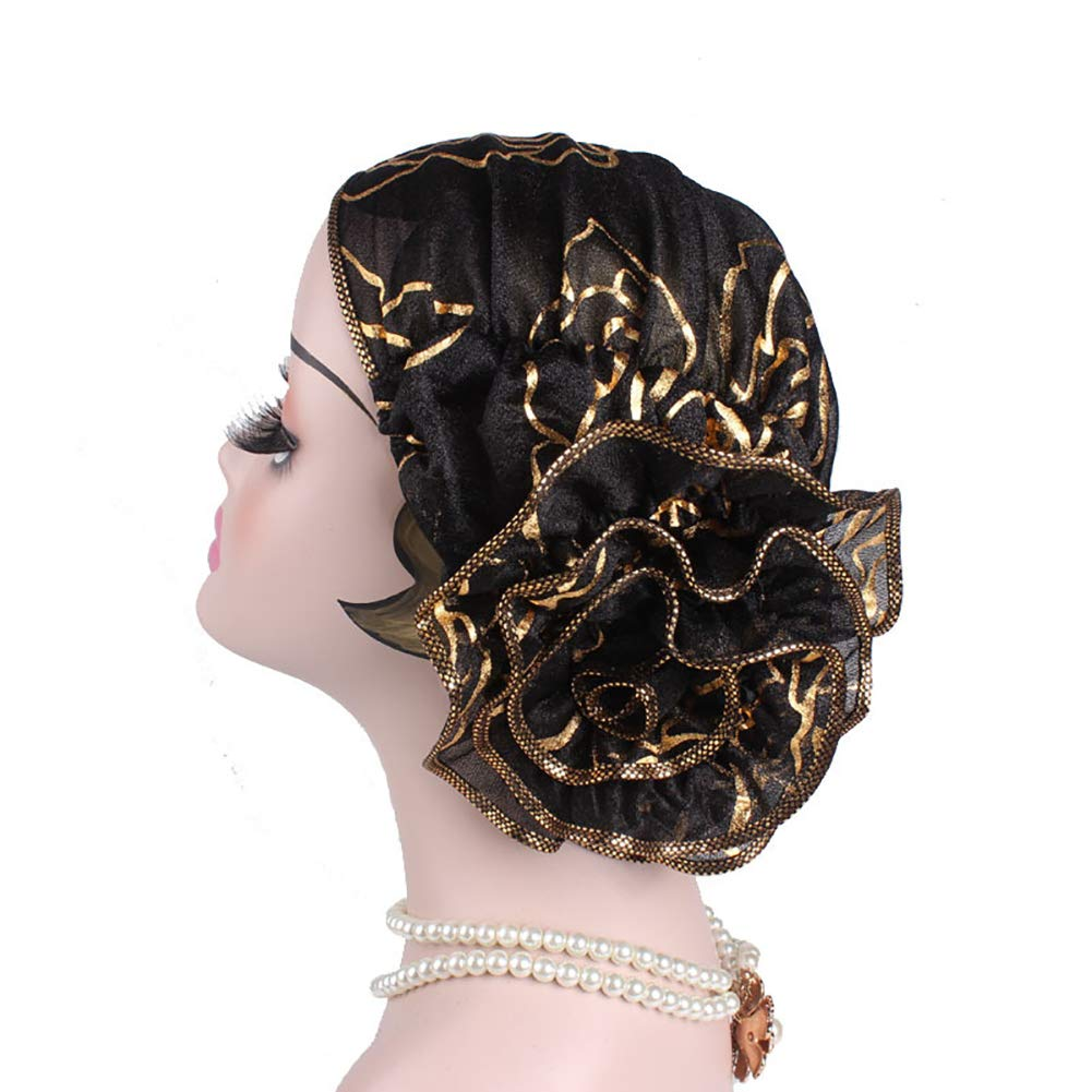 1920s Hairstyles History- Long Hair to Bobbed Hair Chemo Headwear Turbans Long Hair Head Scarf Headwraps Cancer Hats for Hair Loss $7.99 AT vintagedancer.com