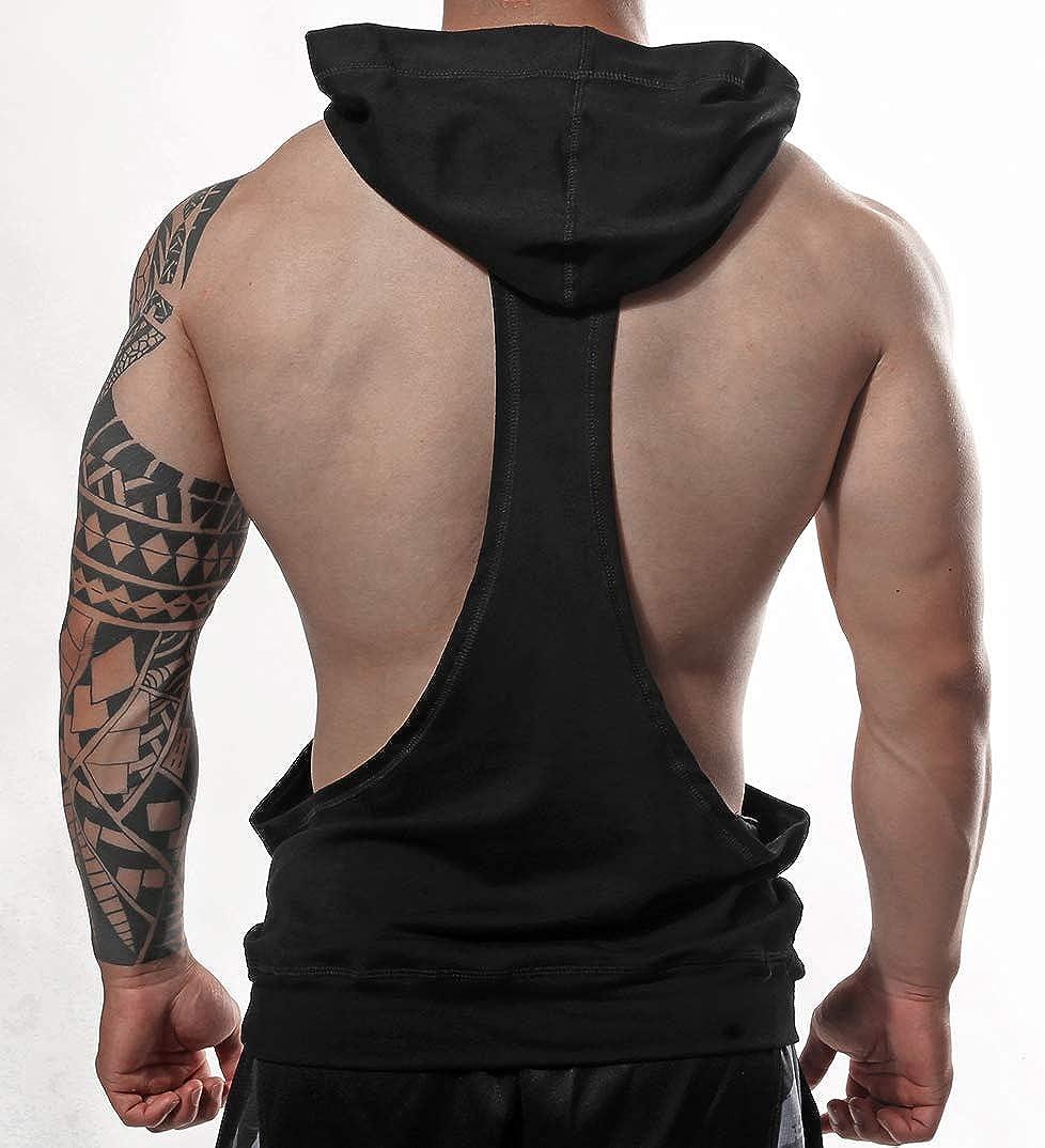 Tops Vest Clothes  Men  Stripes Bodybuilding USA US Muscle Workout Gym Tank Tops