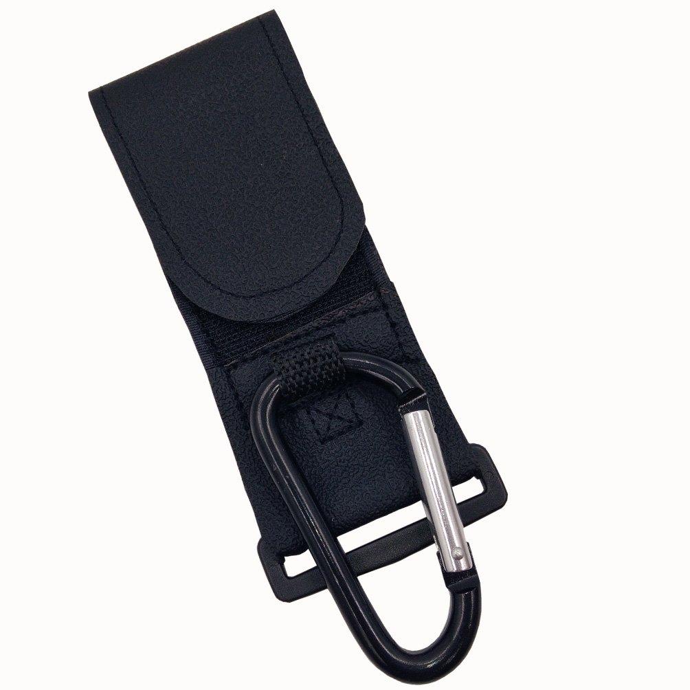 Evnis Stroller Hook, Multi Purpose Hooks Clip, Carabineer (Black)
